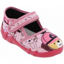 Sandale Fete, Roz, inchidere velcro, marca RenBut