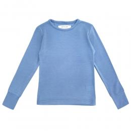 Bluza din lana merinos Baby Blue