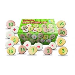 Pietricele cu numere - Set Matematica