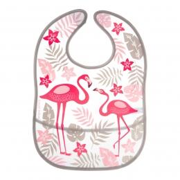 """Baveta """"Jungle"""", Canpol babies, fara BPA, roz"""