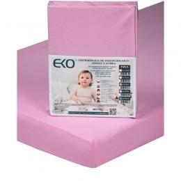 Cearsaf Impermeabil din Jersey cu Elastic, EKO, 140x70 cm, Pink