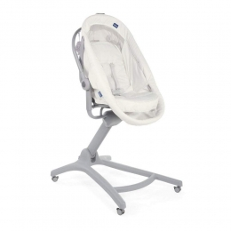 Cosulet multifunctional 4 in 1 Chicco Baby Hug AIR, White Snow (Alb), 0luni+