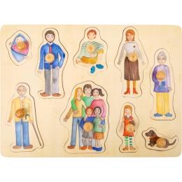 Puzzle incastru Familia si Prietenii