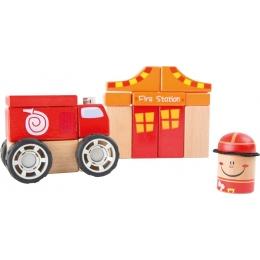 Pompierii - joc de construit