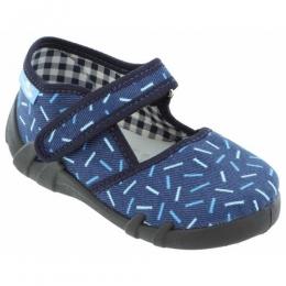 Sandale Baieti, Albastru, inchidere velcro, marca RenBut
