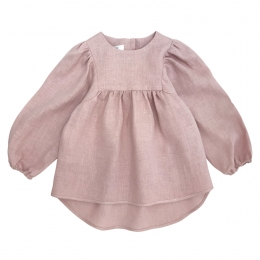 Bluza din in organic Dusty Pink