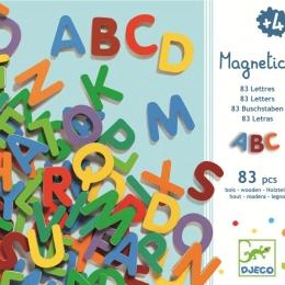 83 Litere magnetice pentru copii- Djeco