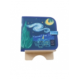 Carte de colorat refolosibila - Van Gogh - Color It & Go erasable book - Van Gogh - Jaq Jaq Bird