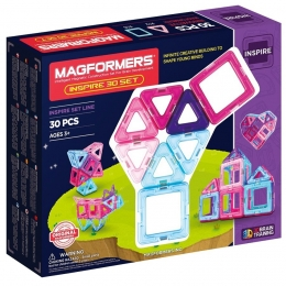 Set magnetic de construit- Magformers Inspire, 30 piese