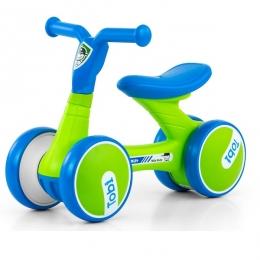 Bicicleta fara pedale, foarte usoara, Tobi Blue Green