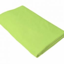 Cearceaf verde KidsDecor cu elastic patut copii 80x160 cm