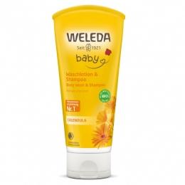 Baby lotiune de curatare si sampon, Weleda