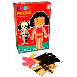 Puzzle corpul uman - fata