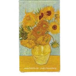 Semn de carte magnetic Van Gogh - Sunflowers