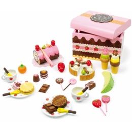 Cutia cu dulciuri, din lemn