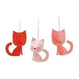 Decoratie camera copil pisici Djeco