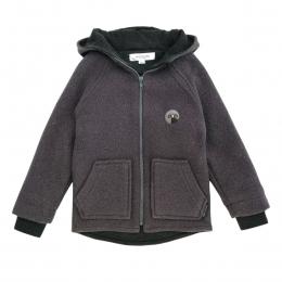 Jacheta dublata din lana fiarta Elderberry
