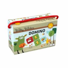 Joc DOMINO in cutie - Wacky Wonders