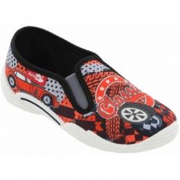 Pantofi Baieti, Rosu Gri, marca RenBut