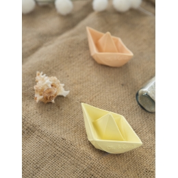 Barcuta Origami, vanilie, jucarie pentru baie
