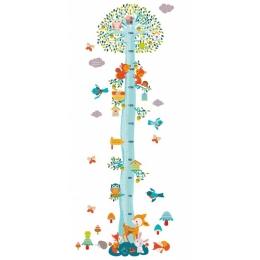 Abtibild masuratoare pentru copii Veverite in copac