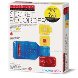 Joc electronic Logiblocs - set Secret Recorder