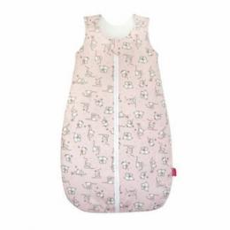 Sac de dormit KidsDecor primavara 0.8 tog Loving bear pink 60 cm