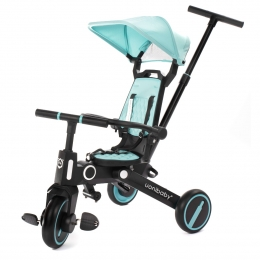 Tricicleta Uonibay 3 in 1, Pliabila si Reversibila - Blue