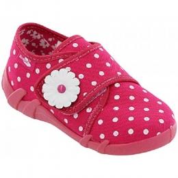 Pantofi Fetite, Roz, inchidere velcro, marca RenBut