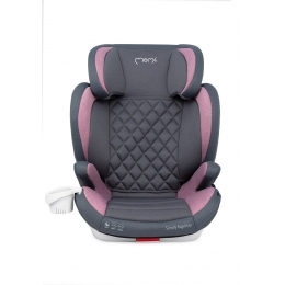 Scaun auto cu isofix Quick Fix, Momi, 15-36Kg, Pink