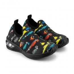 Pantofi Baieti LED Bibi Space Wave 2.0 Race