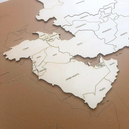 Puzzle Harta - ASIA