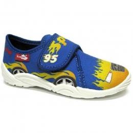 Pantofi Baieti, marca RenBut, Albastru Galben