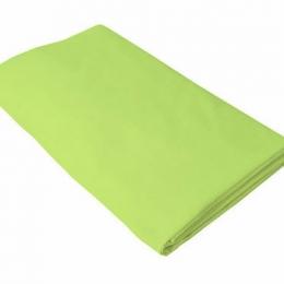 Cearceaf verde KidsDecor cu elastic patut copii 70x160 cm