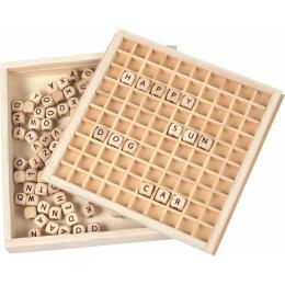 Tablita de invatare Primele cuvinte - din lemn