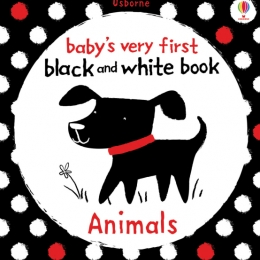 Usborne Baby's first black and white book - Animals
