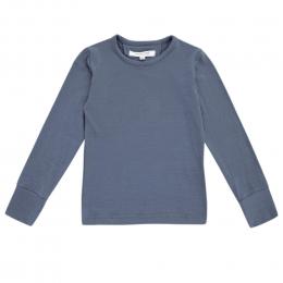 Bluza din lana merinos Blueberry