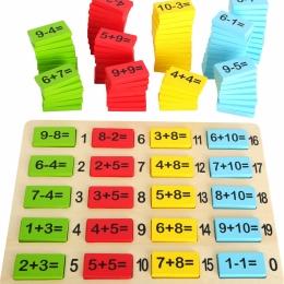 """""""Matematica distractiva"""", joc educativ din lemn"""
