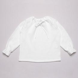 Bluza din muselina organica Hope - White