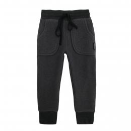Pantaloni dublati din lana fiarta Elderberry