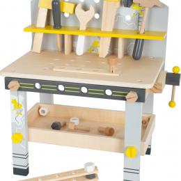 """Banc de lucru din lemn cu accesorii pentru copii """"Miniwob"""""""