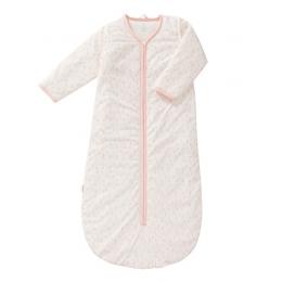 Sac de dormit gros, cu maneci detasabile, model Raidrops Pink, 90 cm