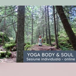 YOGA Body & Soul - sesiune individuala + optiuni abonament