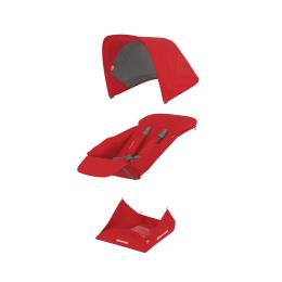 Set Materiale Textile Greentom Reversible, Red
