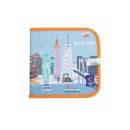 """Carte refolosibila pentru desen/colorat - Colectia """"Cities of Wonder"""" - New York"""