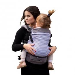 Marsupiu ergonomic, 3.5 kg-20 kg, Kinder Hop, Multi Grow, Marine Zig Zag