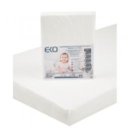 Cearsaf Impermeabil din Jersey cu Elastic, EKO, 140x70 cm, White