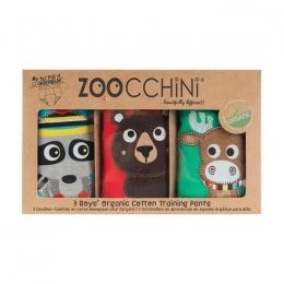 Set 3 Chilotei Antrenament, Zoocchini, Baiat, 3-4 ani, 100% Bumbac Organic, Forest
