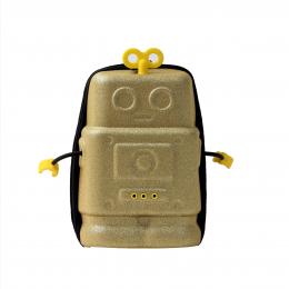 Ghiozdanel Robot Auriu