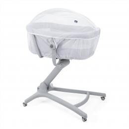 Plasa protectie impotriva insectelor pentru cosulet multifunctional Chicco Baby Hug, White, 0 luni+